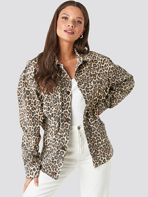 Cheap Monday Upsize Jacket Cheeta brun