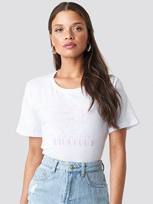 T-shirts - NA-KD Vigorous Tee rosa