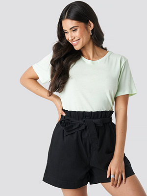 NA-KD Paper Bag Cotton Shorts svart