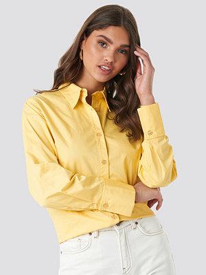 Skjortor - NA-KD Classic Oversized Shirt gul