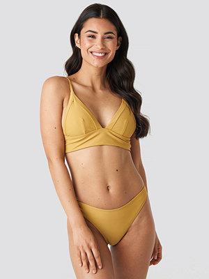 NA-KD Swimwear High Cut Bikini Panty gul