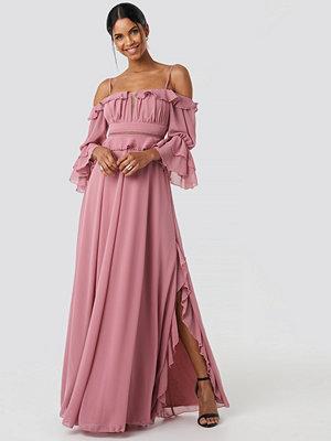 Trendyol Torino Long Dress rosa
