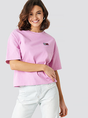 Tommy Jeans Tommy Jeans Badge Tee rosa