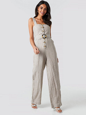 Jumpsuits & playsuits - Mango Dona One-Piece Suit beige