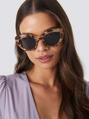 NA-KD Accessories Cat Eye Sunglasses beige