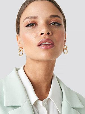 Emilie Briting x NA-KD smycke Chain Earrings guld