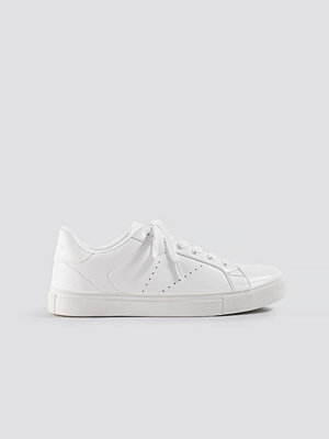 NA-KD Shoes Basic Trainers vit