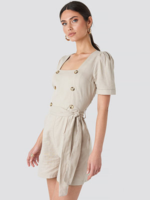 Jumpsuits & playsuits - Trendyol Carmen Playsuit beige