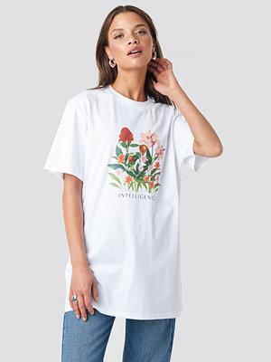 T-shirts - NA-KD Trend Intelligence Unisex Tee vit