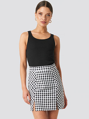NA-KD Classic Gingham Mini Skirt multicolor