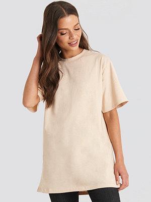 T-shirts - NA-KD Basic Unisex Tee beige