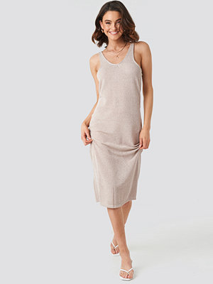 Mango Rusi Dress beige