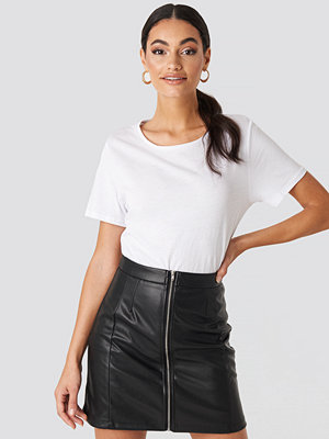 Hoss x NA-KD High Waist Zipped Skirt svart