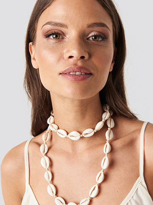 Trendyol smycke Seashell Necklace beige