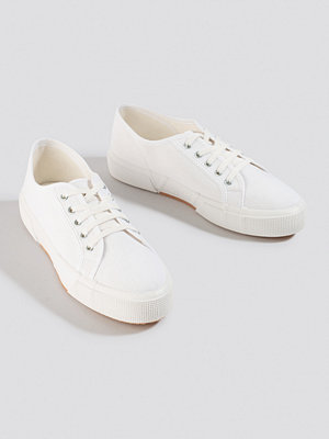 NA-KD Shoes Basic Canvas Sneakers vit