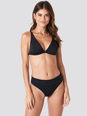 Trendyol Long Triangle Bikini Bottom svart
