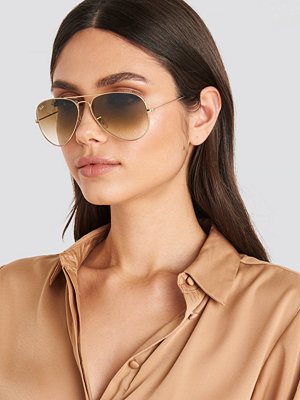 Ray-Ban Aviator Large Metal guld
