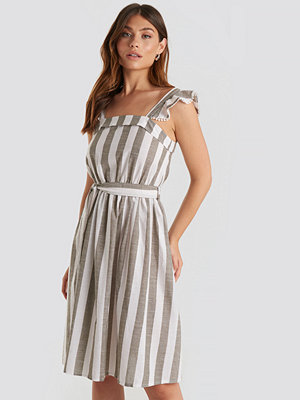 Trendyol Bora Striped Midi Dress multicolor