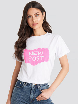 T-shirts - Trendyol New Post Tee vit