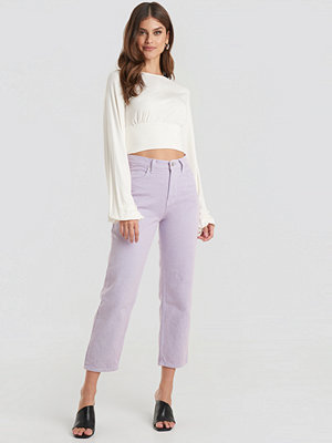 Beyyoglu Straight Mom Jeans lila