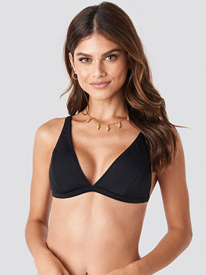 Trendyol Long Triangle Bikini Top svart