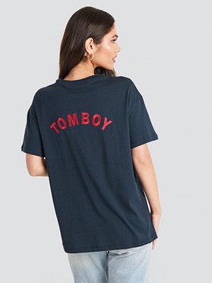 Trendyol Tomboy Tee blå