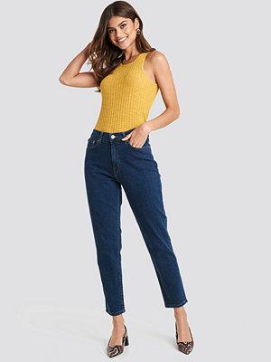 Mango Mom Jeans blå
