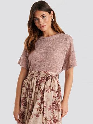 T-shirts - Mango Rous T-shirt rosa