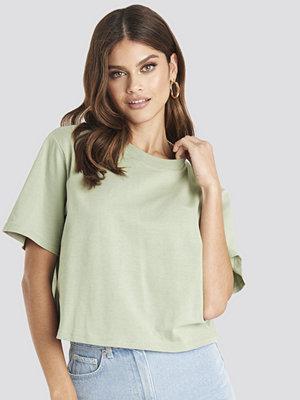 T-shirts - NA-KD Basic Oversize T-Shirt grön