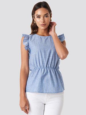 Skjortor - Trendyol Yol Striped Top blå