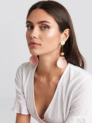 Mango smycke Iris Earrings rosa orange