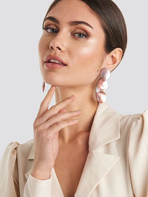 Mango smycke Lily Earrings rosa