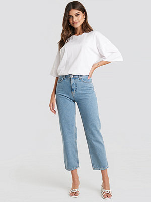Beyyoglu Straight Mom Jeans blå