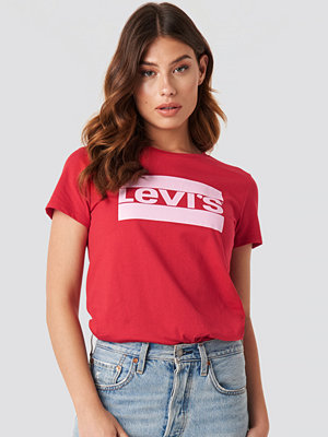 Levi's The Perfect Tee röd