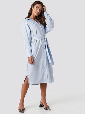 Mango Cuscus Dress blå
