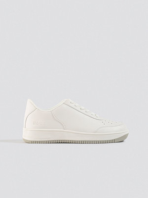 NA-KD Shoes Basic Sneakers vit