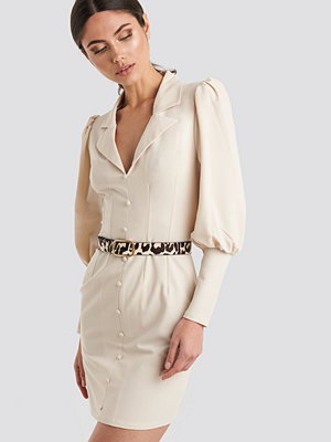 Mango Barcelon Belt beige /