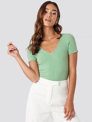 Mango Barca T-Shirt grön