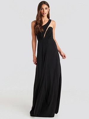 Trendyol One Shoulder Evening Dress svart