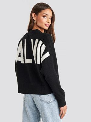 Calvin Klein Calvin Back Logo Sweater svart