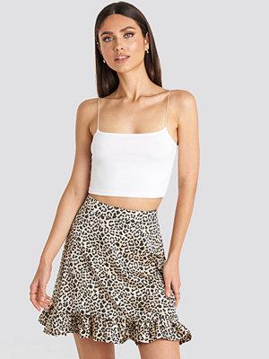 Karo Kauer x NA-KD Flounce Mini Skirt multicolor