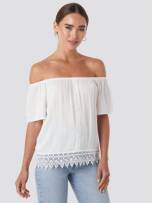 Trendyol Bora Off Shoulder Top vit