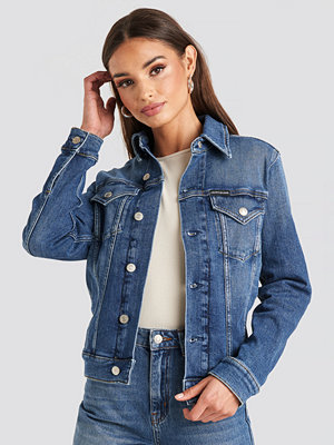 Calvin Klein Foundation Trucker Jacket blå
