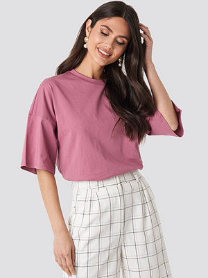 T-shirts - NA-KD Basic Oversized Boxy T-shirt rosa