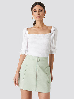 NA-KD Cargo Mini Skirt grön