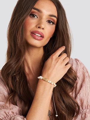 Trendyol smycke Broken Stone Bracelet beige