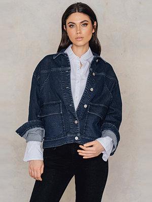 Filippa K Oversized Denim Jacket blå