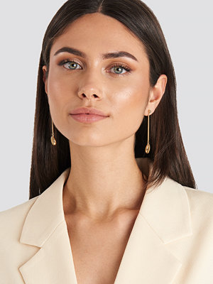 NA-KD Accessories smycke Cowrie Shell Drop Earrings guld
