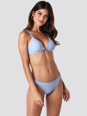 Bikini - Gerda x NA-KD Basic Low Cut Bikini Bottom blå