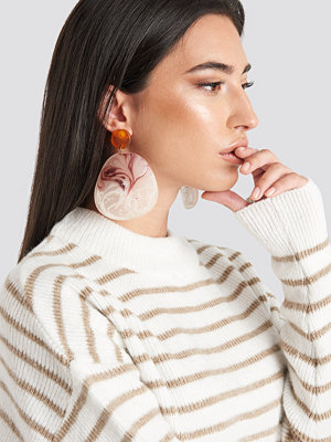 Mango smycke Akili Earrings röd multicolor